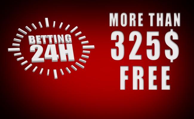 More than 325$ Free